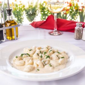 Gnocchi Al Gorgonzola(cheese and Cream Sauce)